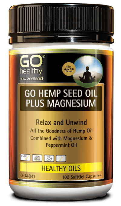 GO Healthy Hemp Seed Oil Plus Magnesium 100s